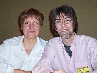 Spider e Jeanne Robinson nel 2004 (Foto C. A. Bridges)