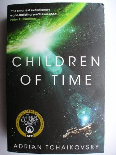 I figli del tempo di Adrian Tchaikovsky (edizione britannica)