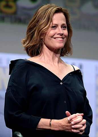 Sigourney Weaver nel 2017