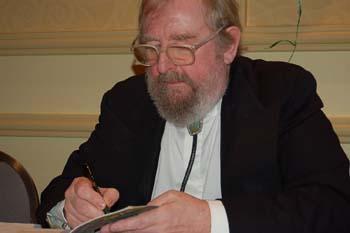 Michael Moorcock nel 2016