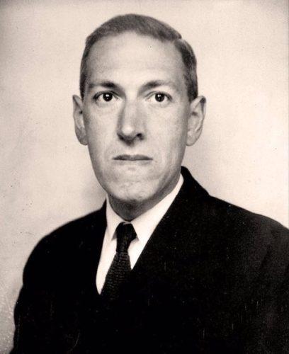 H.P. Lovecraft nel giugno 1934 (Foto Lucius B. Truesdell)