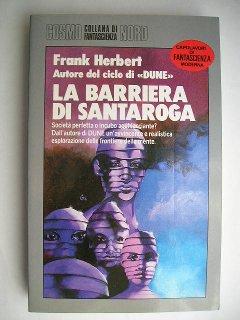 La barriera di Santaroga di Frank Herbert
