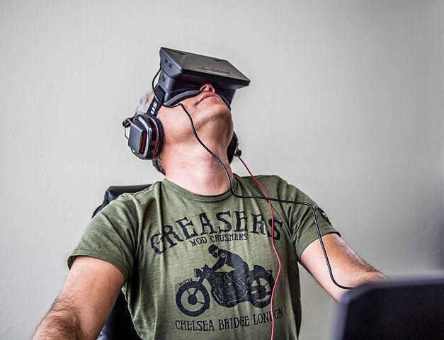 Sergey Orlovskiy testa Oculus Rift