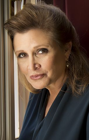 Carrie Fisher nel 2013