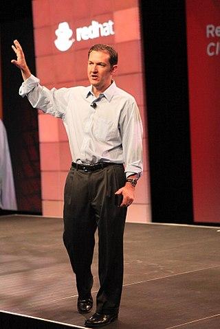 Jim Whitehurst nel 2010