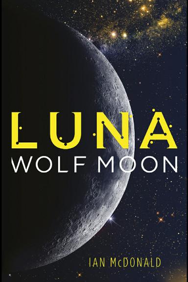 Luna piena di Ian McDonald (edizione britannica)