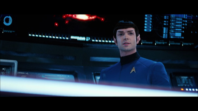 Spock (Ethan Peck) in Un dolore così dolce Parte 2 (Immagine cortesia CBS / Netflix)