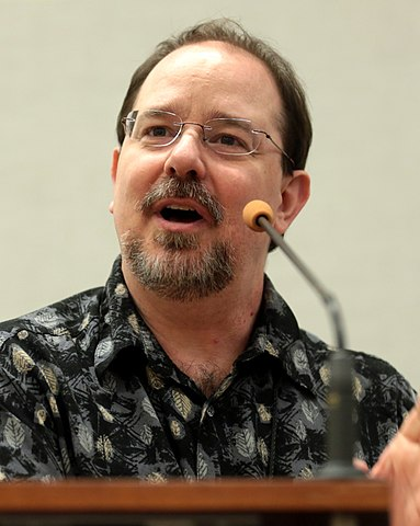 John Scalzi nel 2018