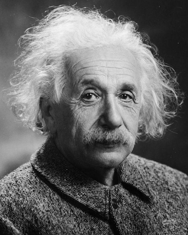 Albert Einstein nel 1947