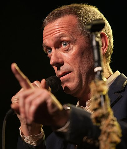 Hugh Laurie nel 2012
