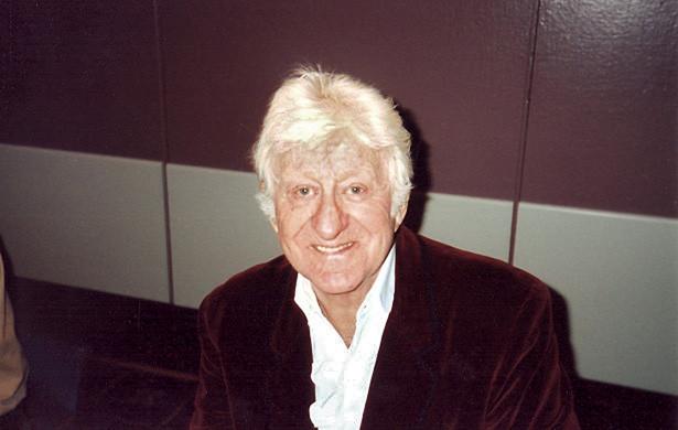 Jon Pertwee nel 1996