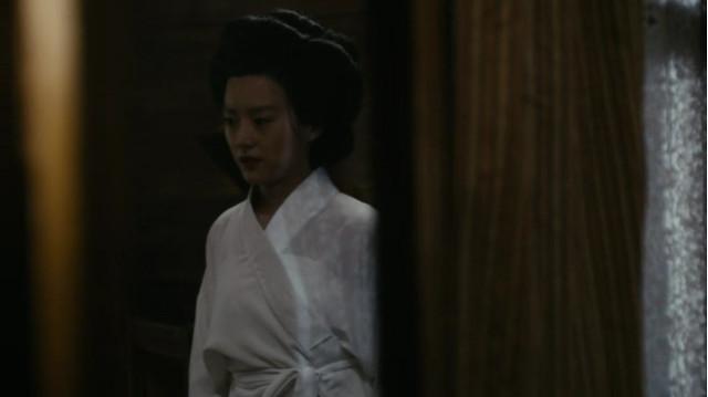 Yuko Tanabe (Kiki Sukezane) in Taizo (Immagine cortesia AMC Studios / Amazon. Tutti i diritti riservati)