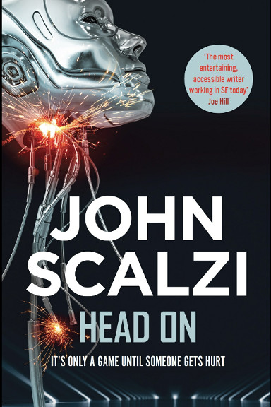 Su la testa di John Scalzi (edizione britannica)