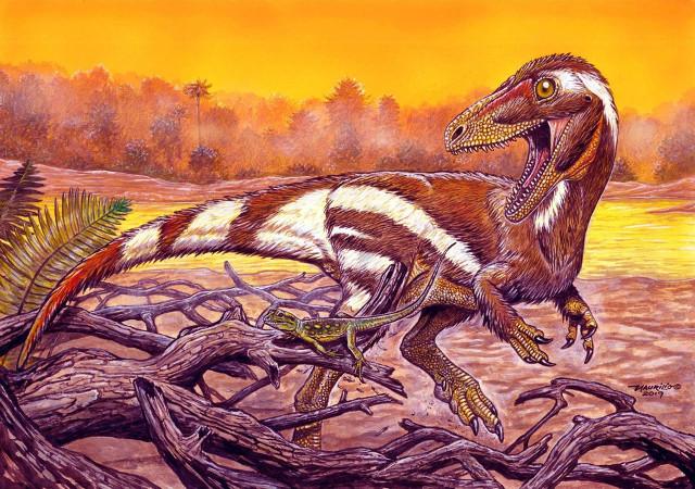 Concetto artistico di Aratasaurus museunacionali (Immagine cortesia Maurilio Oliveira)