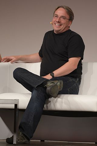 Linus Torvalds nel 2014